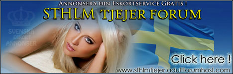 SthlmTjejer Eskort Annonser Forum: Free Photo Advertising for Sweden based and touring Escort Girls